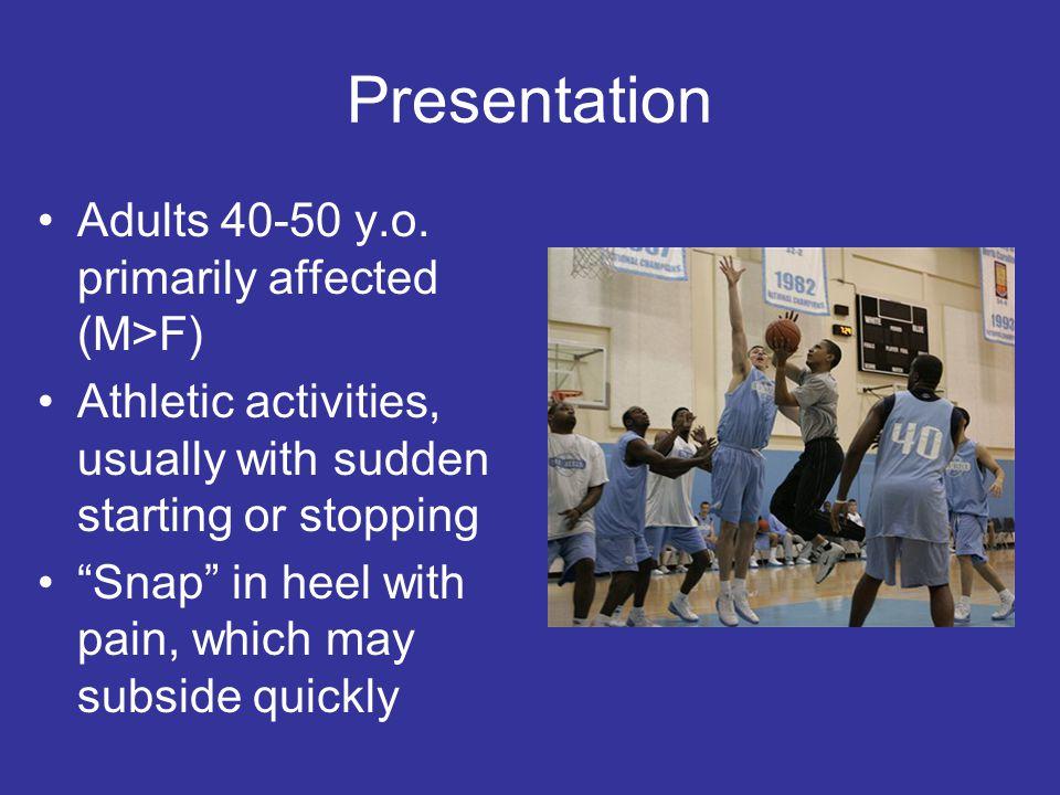 Presentation Adults 40-50 y.o.