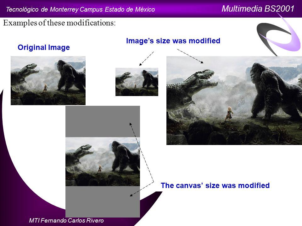 Tecnológico de Monterrey Campus Estado de México Multimedia BS2001 MTI Fernando Carlos Rivero To save a file, we go to File  Save As.