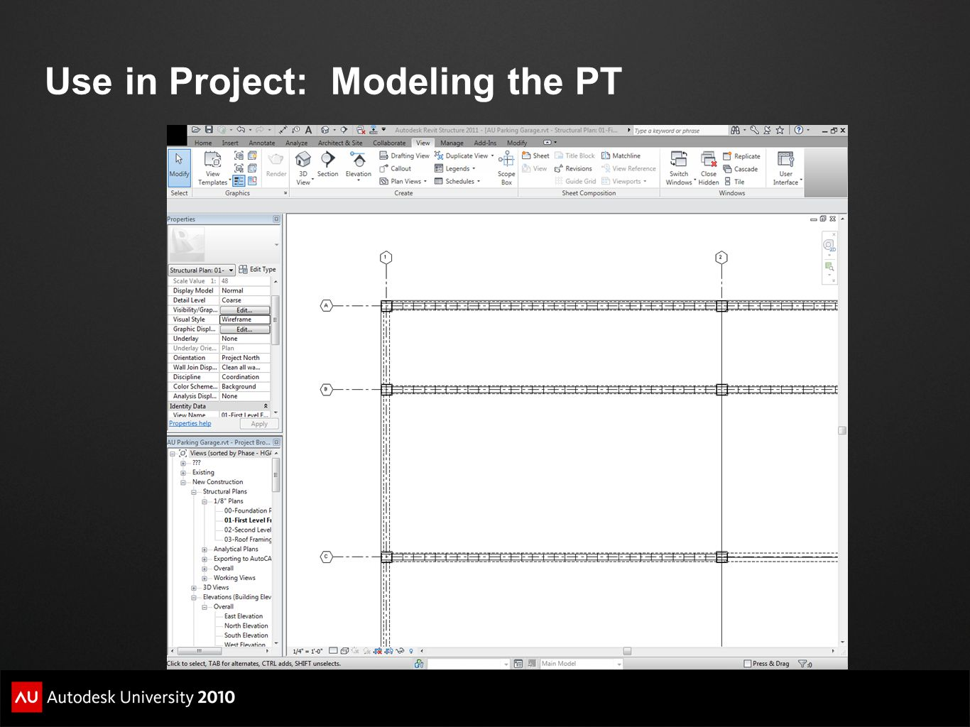 Use in Project: Modeling the PT