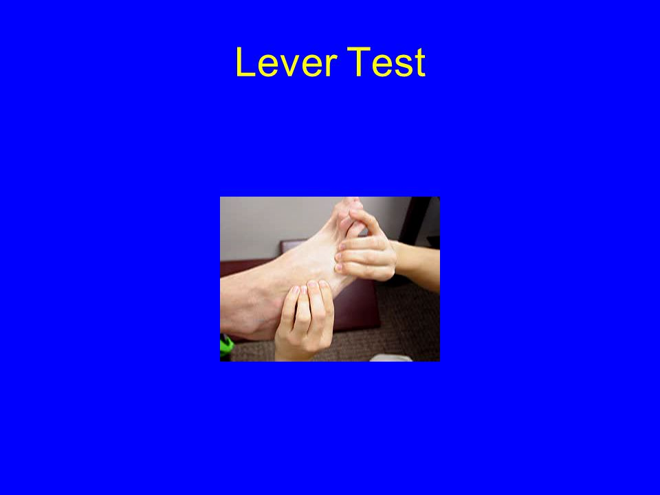 Lever Test