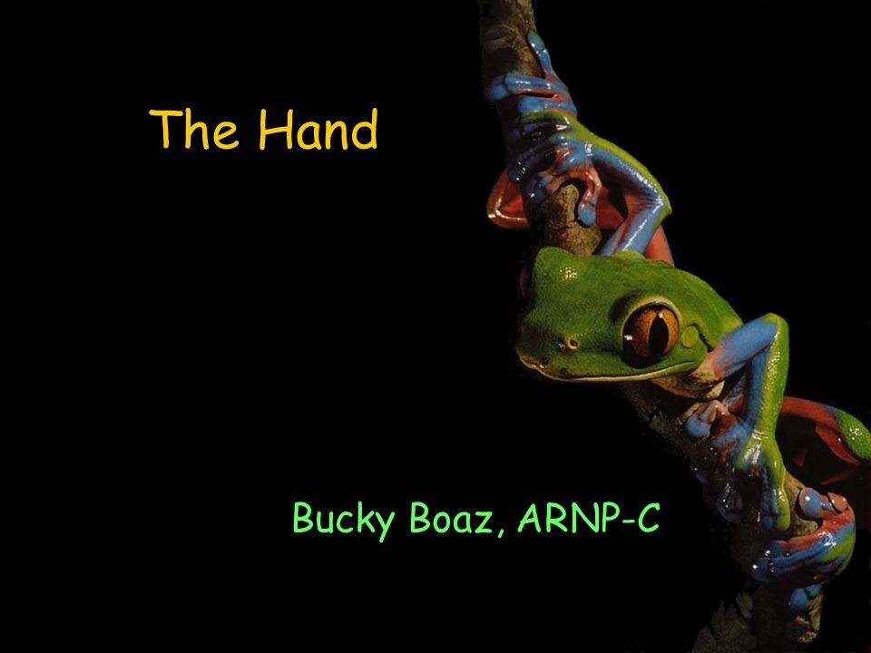 The Hand Bucky Boaz, ARNP-C