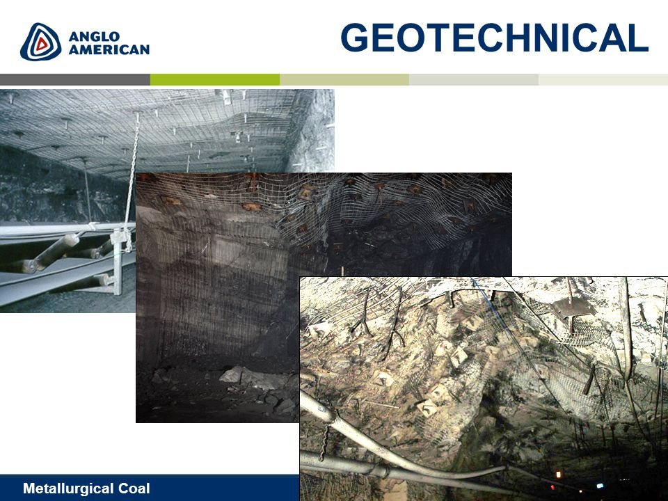 13 Metallurgical Coal GEOTECHNICAL