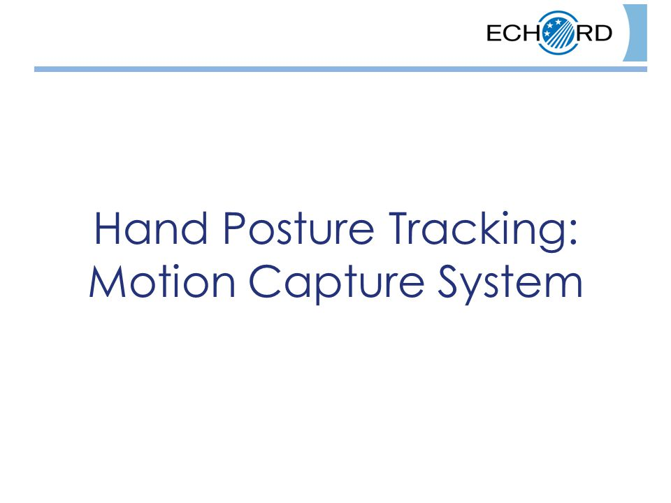 Hand Posture Tracking: Motion Capture System