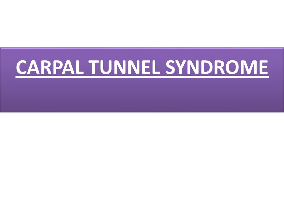 It is a compression of the median nerve (Figure 1) at the level of the carpal tunnel.
