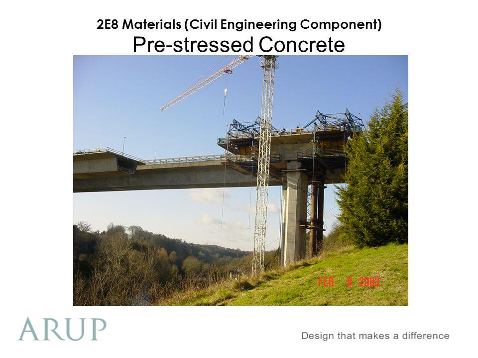 2E8 Materials (Civil Engineering Component) Pre-stressed Concrete