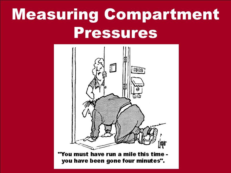 Measuring Compartment Pressures