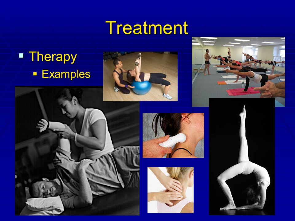 26 Treatment  Therapy  Examples