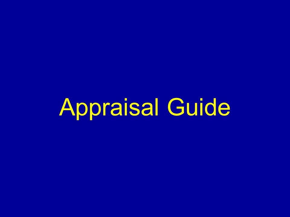 Appraisal Guide