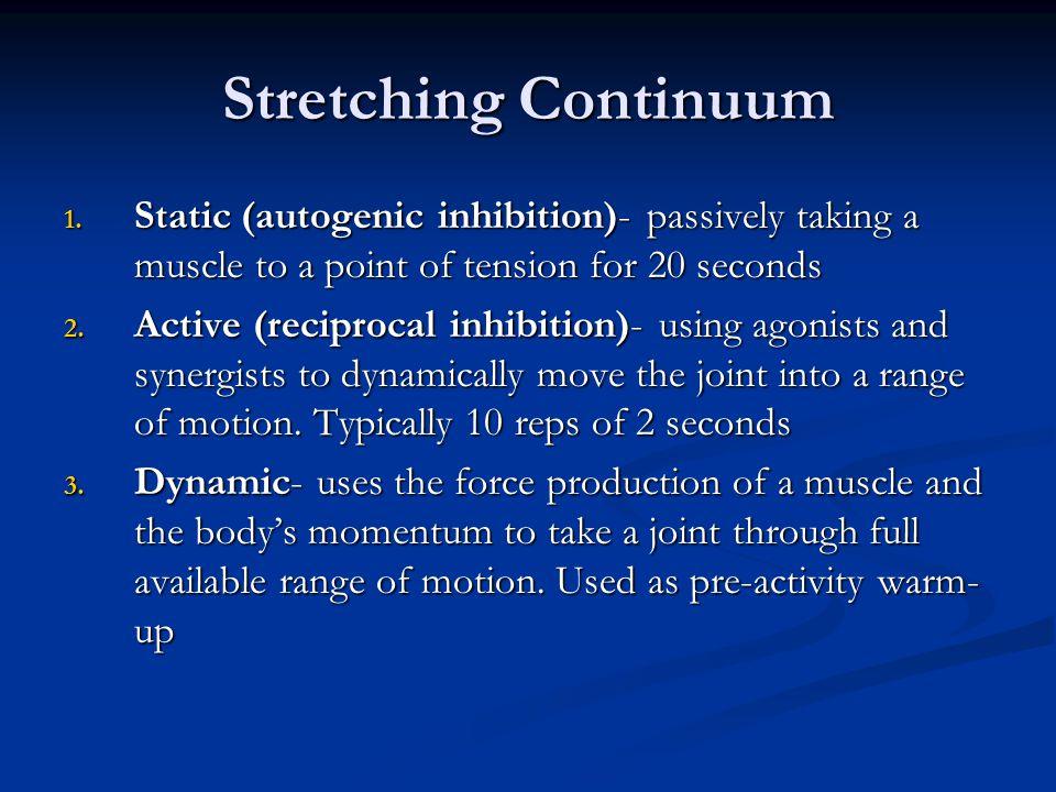 Stretching Continuum 1.