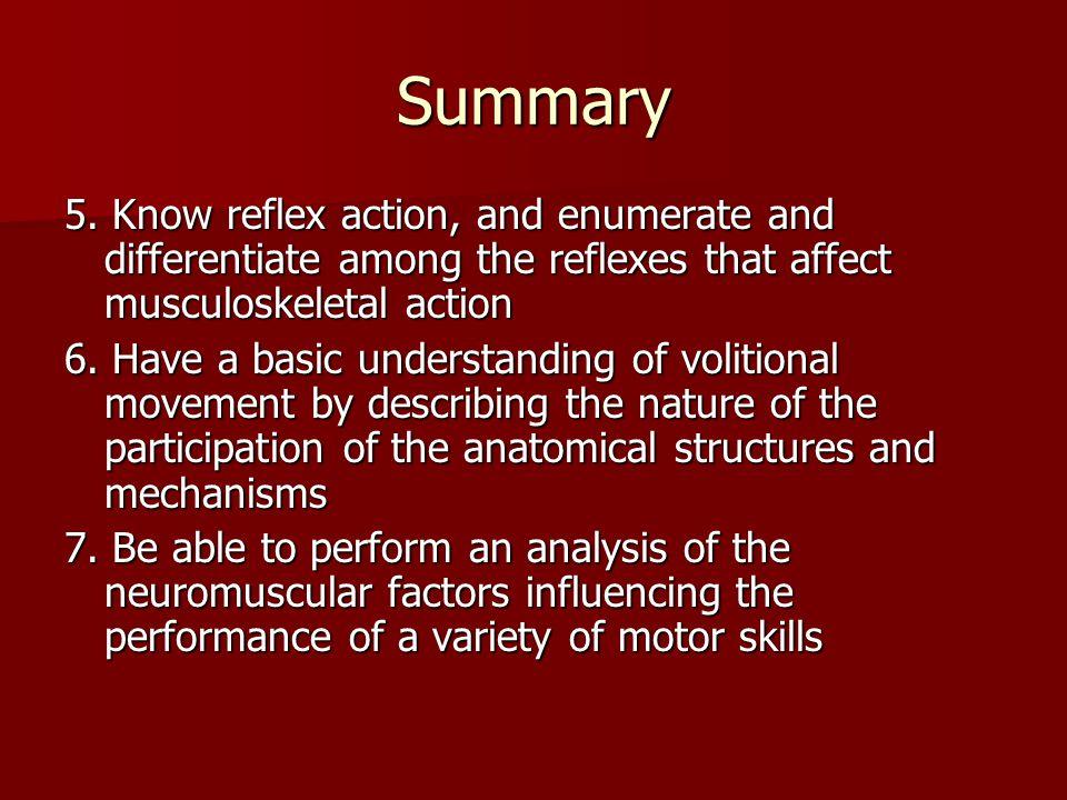 Summary 5.
