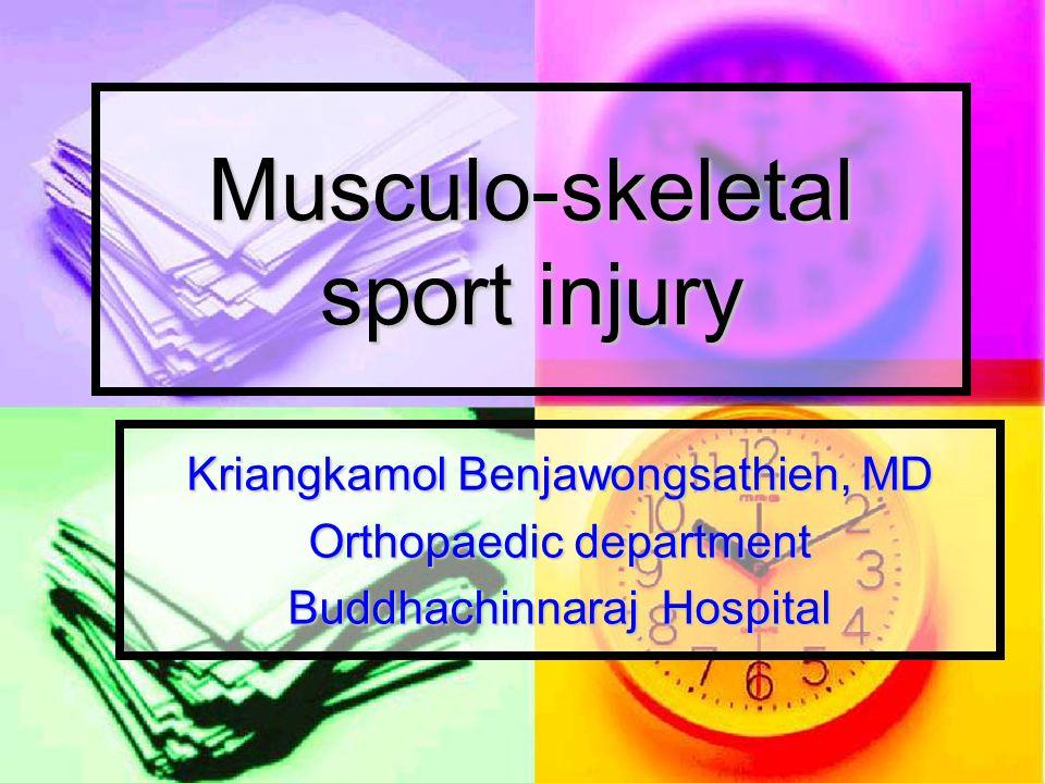 Elbow examination Deformity Deformity Swelling – hemartrosis Swelling – hemartrosis Tender Tender ROM – Flex (bicep) ROM – Flex (bicep) - extend (tricep) - extend (tricep) Sensation, motor (nerve injury) Sensation, motor (nerve injury)