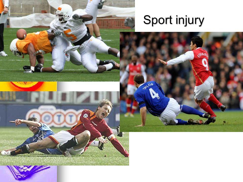 3.2Muscle, tendon injury Tender when resist Tender when resist Pain, swelling Pain, swelling Treat – medication Treat – medication and splint and splint (2-4 week) (2-4 week)