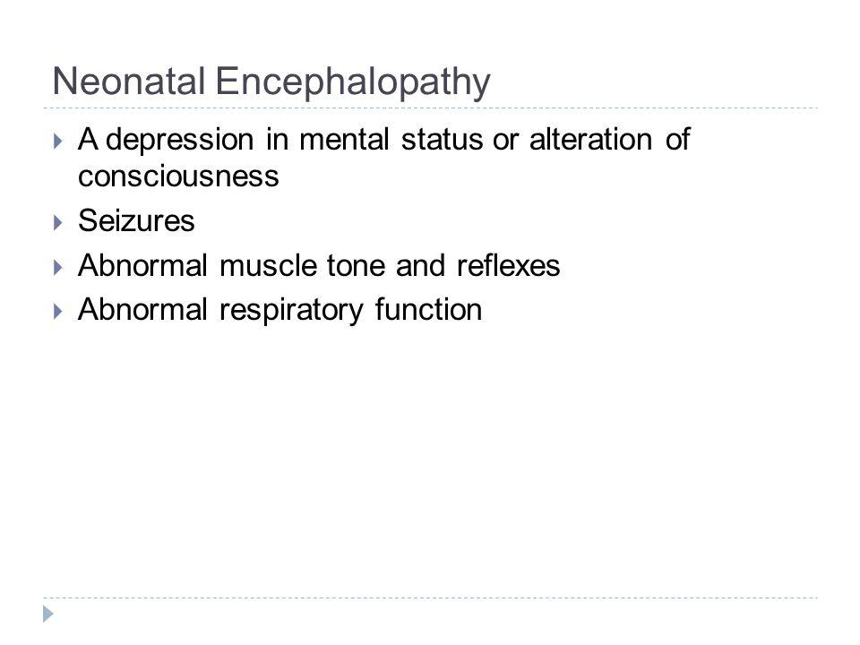 Hypoxic Ischemic Encephalopathy Basal Ganglia Injury