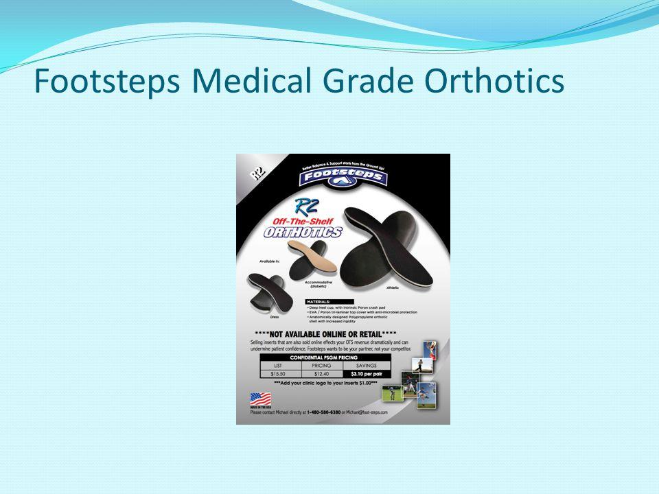 Footsteps Medical Grade Orthotics