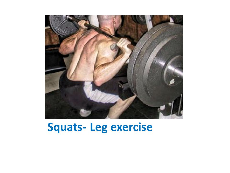 Squats- Leg exercise