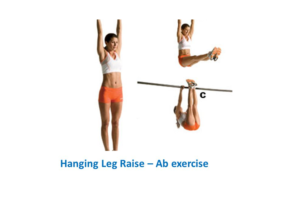 Hanging Leg Raise – Ab exercise