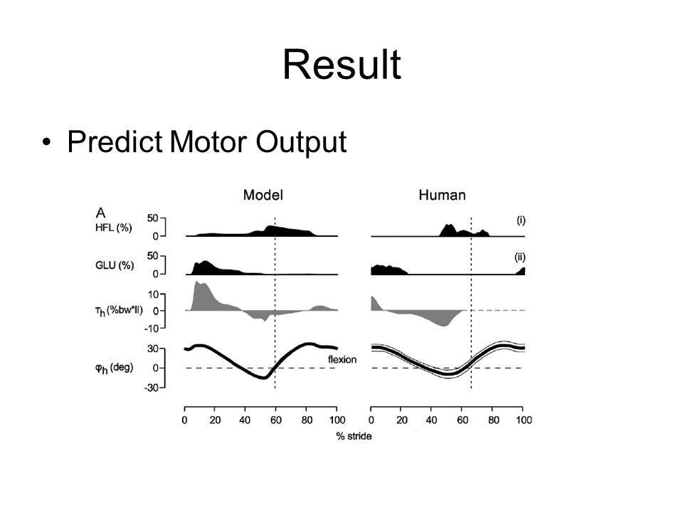 Result Predict Motor Output