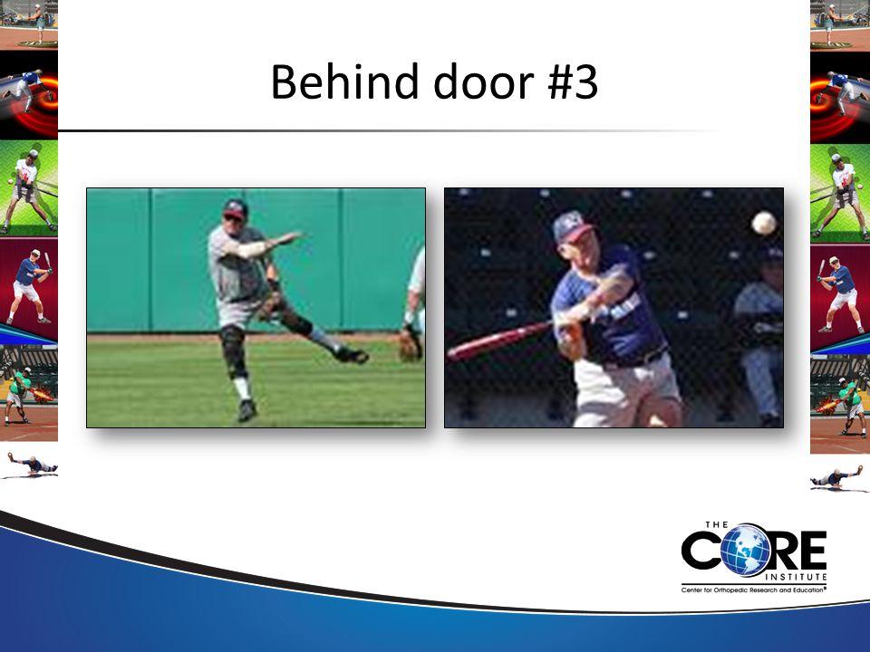 Behind door #3