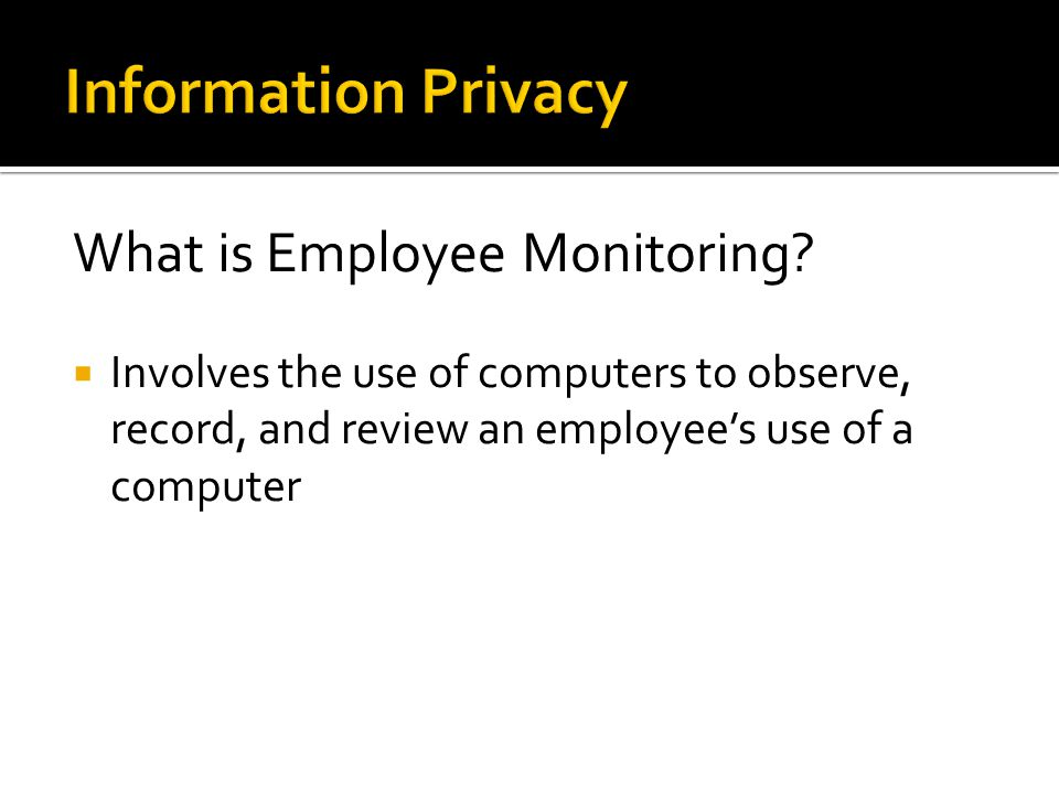 What is Employee Monitoring.