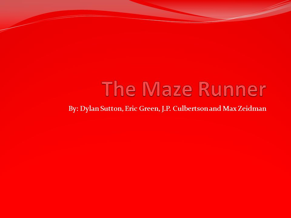 S Setting In the book the Maze Runner the setting takes place in the Glades.