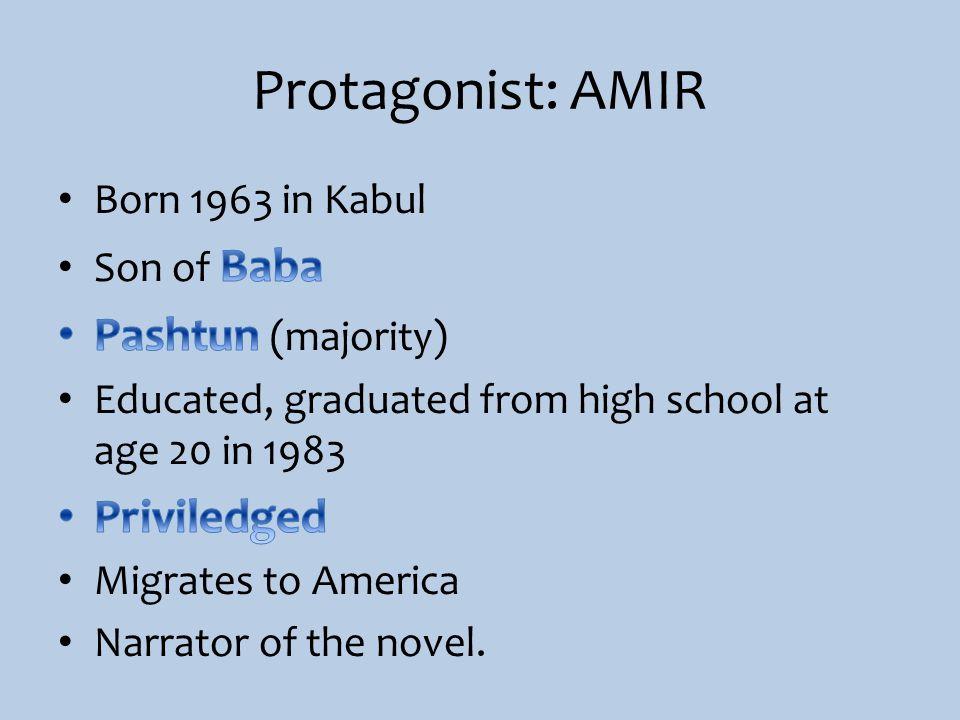 Protagonist: AMIR