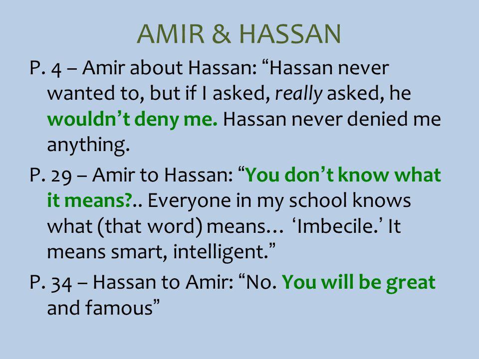 AMIR & HASSAN P.