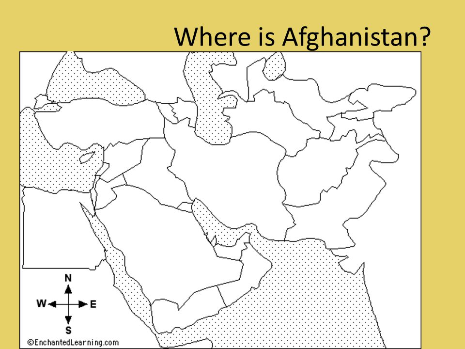 Where is Afghanistan