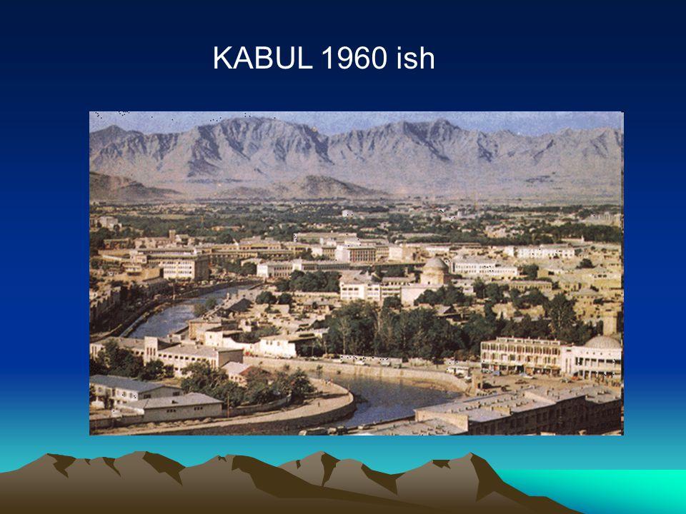 Post war Kabul