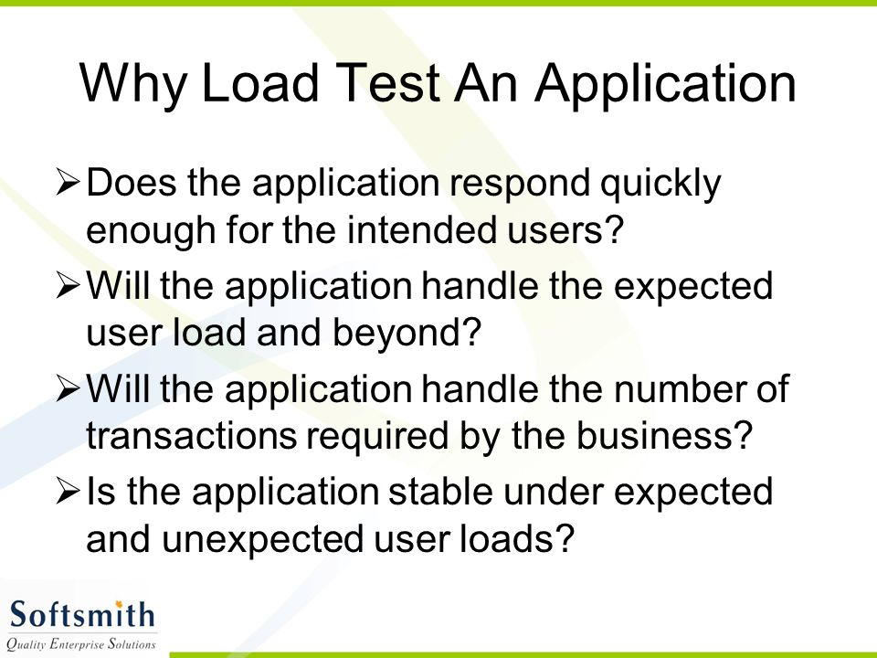 Tune System Based on Analysis LoadRunner Expert Workflow The Big Picture Analyze System Under Load Phase 5 LoadRunner V U G E N LoadRunner C O N T R O L L E R & A N A L Y S I S Run Scenarios Phase 4 Create Scenarios Phase 3 Create Web Virtual Users Phase 2Phase 1 Plan Load Test