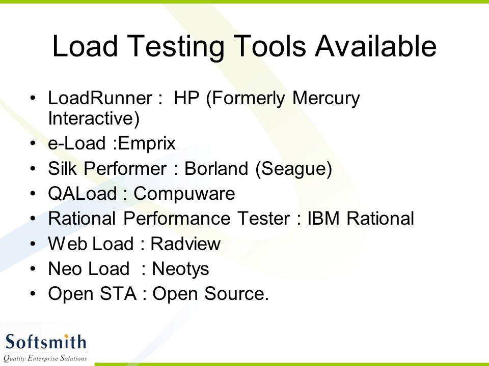 19 LoadRunner Components Controller VuGen Analysis LoadRunner Tuning Contd….