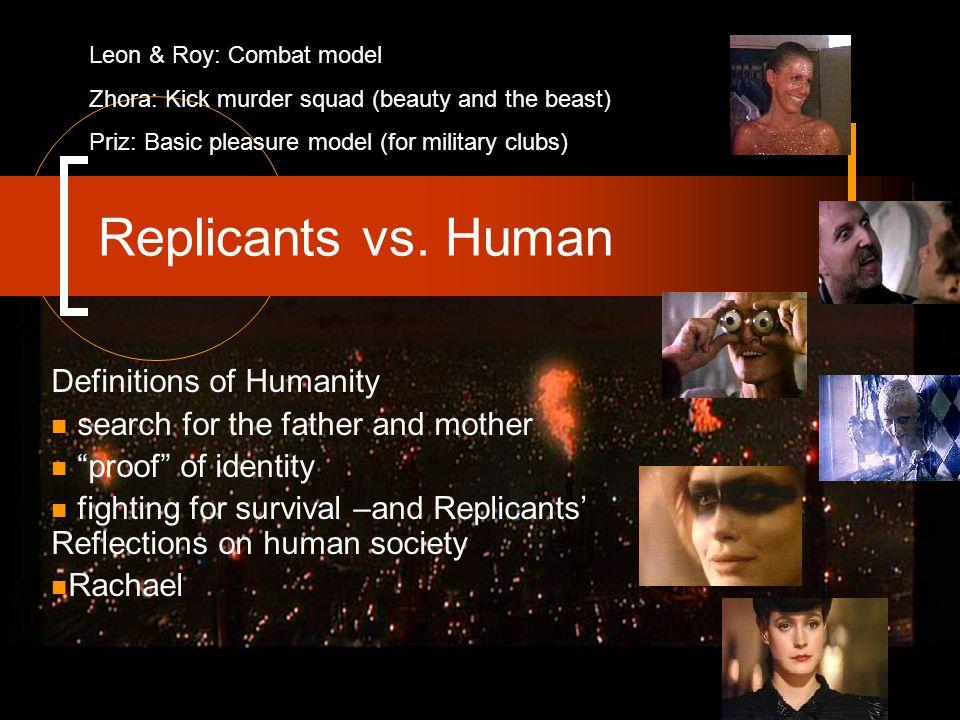 Replicants vs.