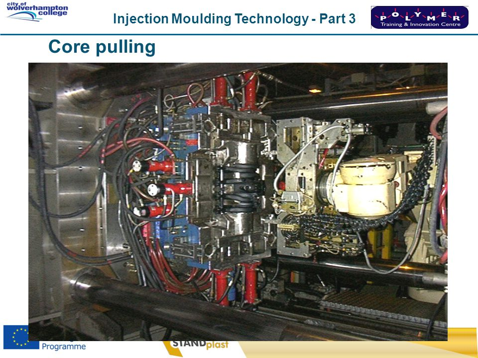 Injection Moulding Technology - Part 3 CoWC 0410 Core pulling