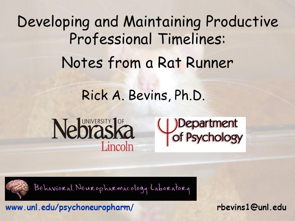 Rick A. Bevins, Ph.D.