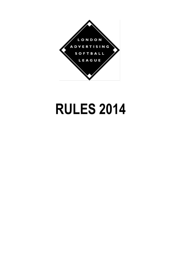 LASL RULES 2014 RULES 2014