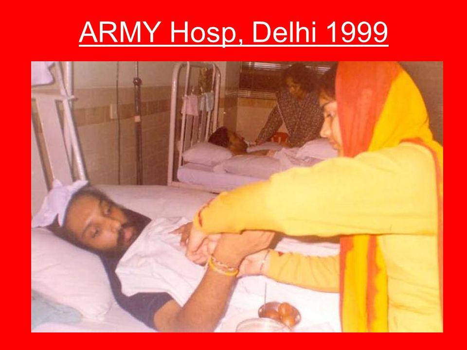 ARMY Hosp, Delhi 1999
