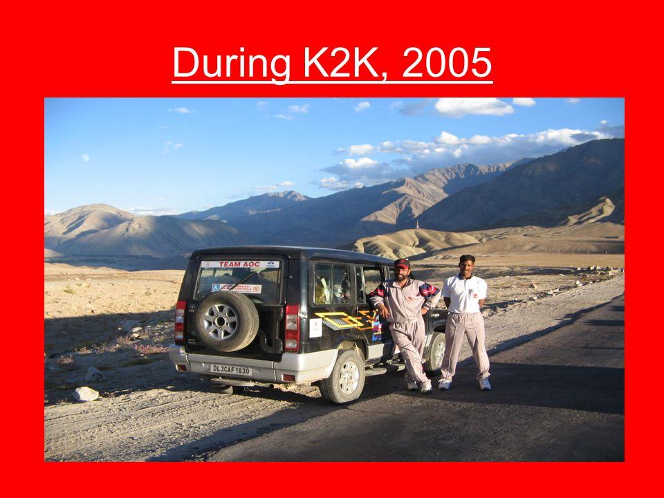 During K2K, 2005
