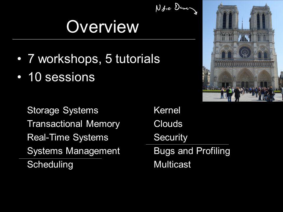 The Doctoral Workshop 2 keynotes 5 / 15 min. presentations The Gauleiter The Don vs.