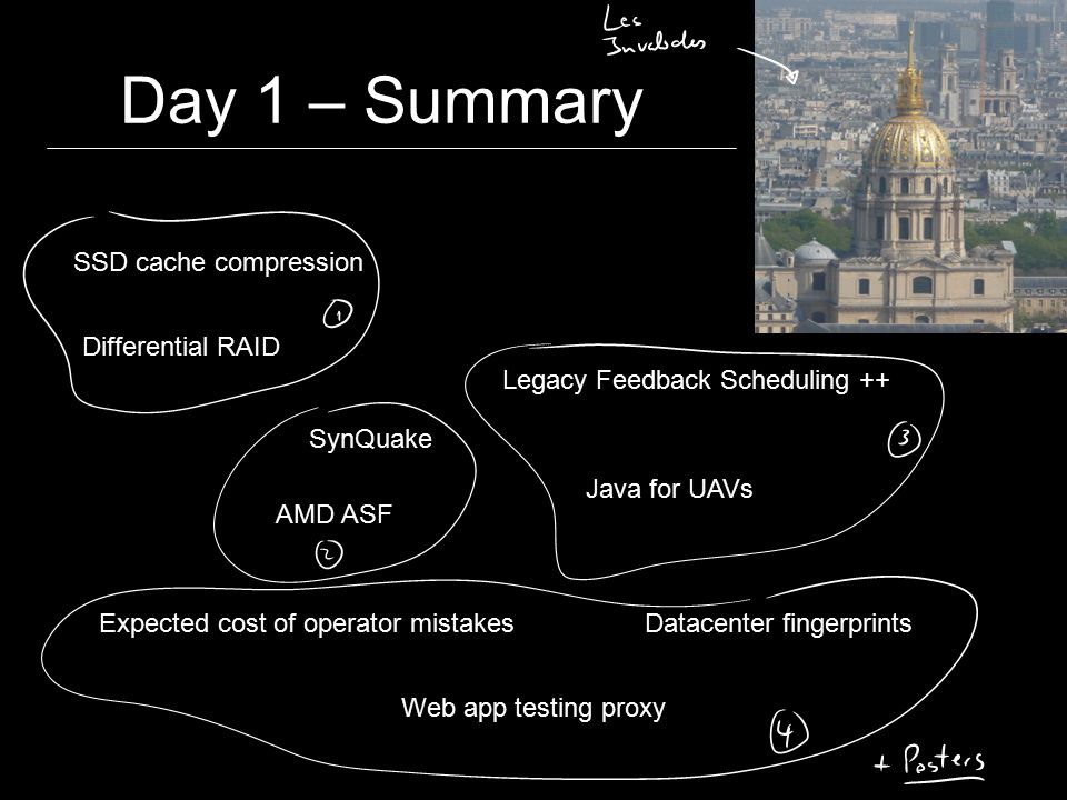 """Day 1 – Best Paper """"Fingerprinting the Datacenter: Automated Classification of Performance Crises P."""