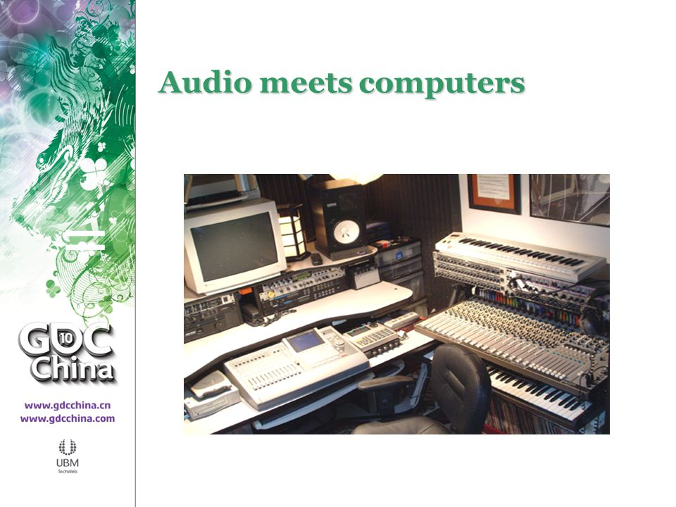Audio meets computers =