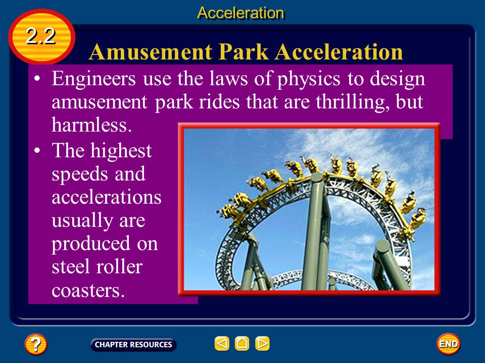 Calculating Negative Acceleration 2.2 Acceleration The acceleration always will be positive if an object is speeding up and negative if the object is