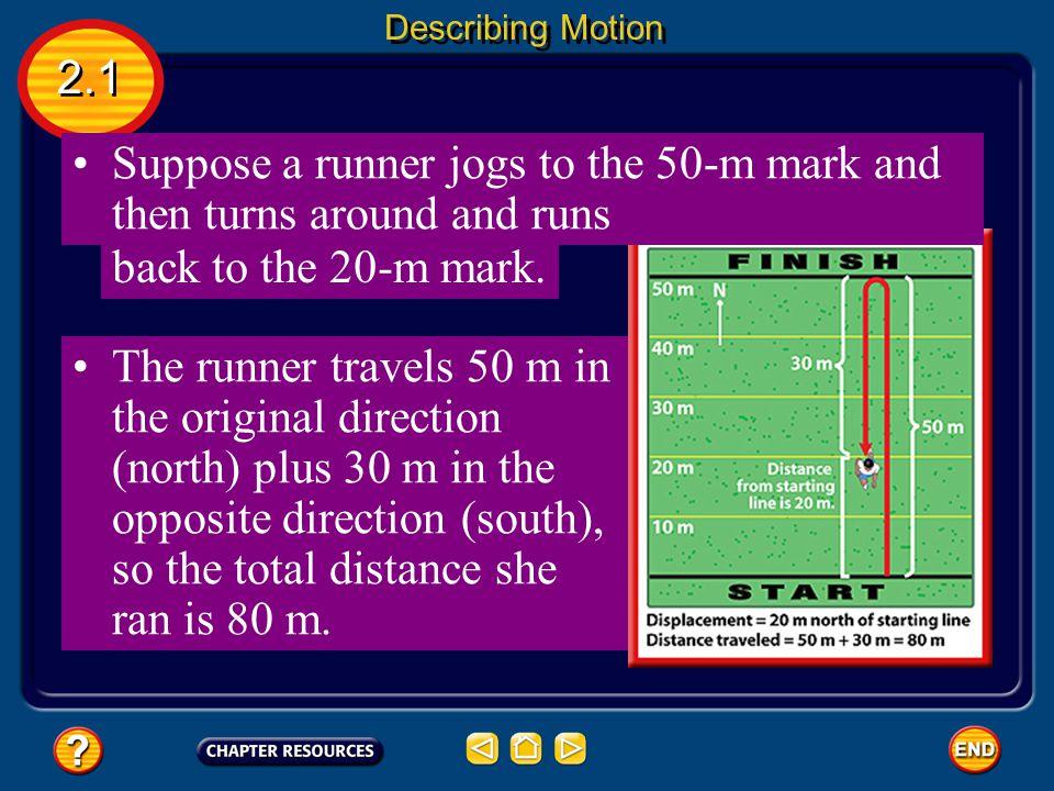 Displacement 2.1 Describing Motion