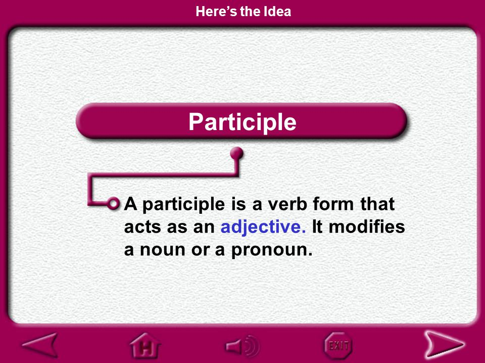 Participial Phrase Using Phrases Here's the Idea Why It Matters Practice and Apply