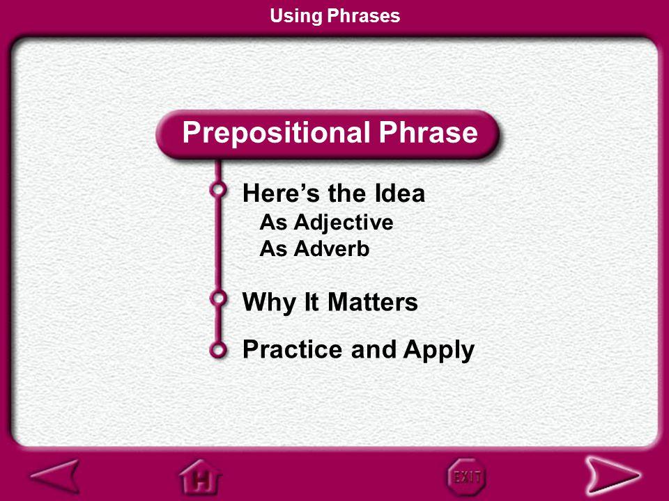Using Phrases Language Network