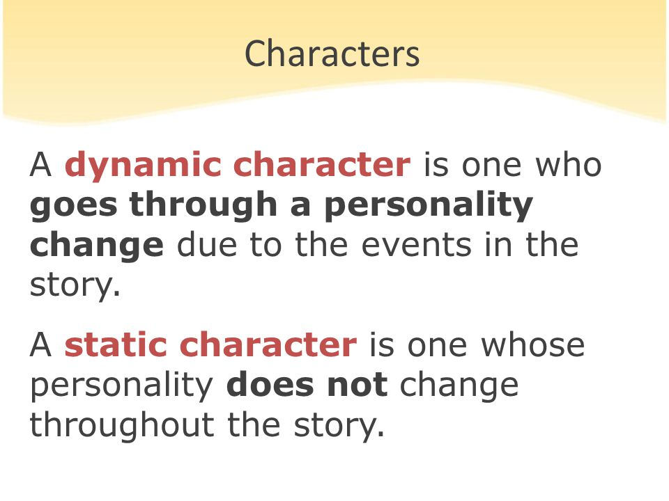 Round Characters A round character is one whose personality, background, motives, and other features are fully described or explained by the author.
