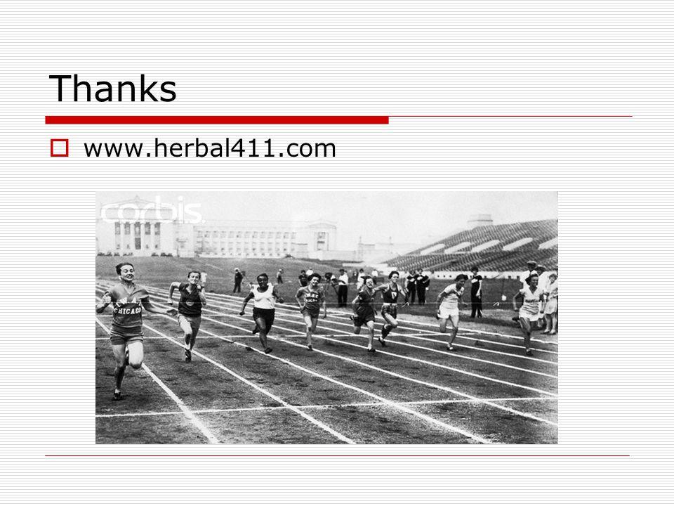 Thanks  www.herbal411.com
