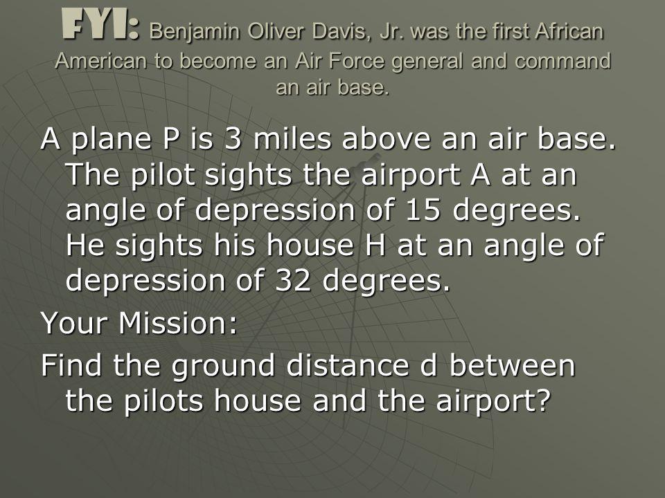 FYI: Benjamin Oliver Davis, Jr.
