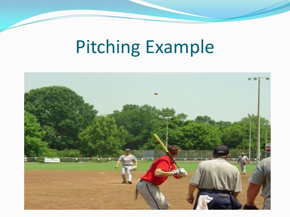 Pitching Example
