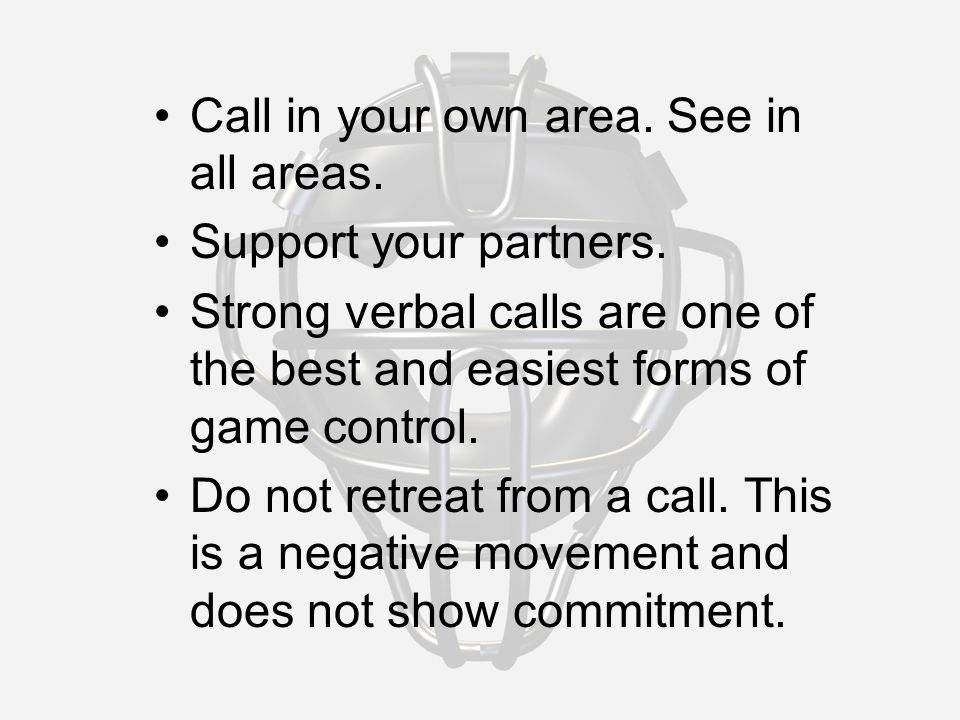 Call in your own area. See in all areas. Support your partners.