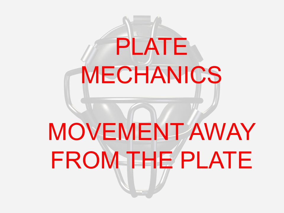 PLATE MECHANICS MOVEMENT AWAY FROM THE PLATE