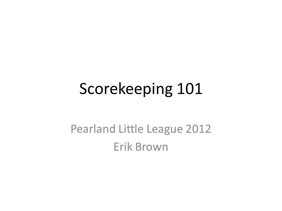 Introduction Erik Brown, President, Pearland Little League – PLL Player Agent, 2011 – Asst.